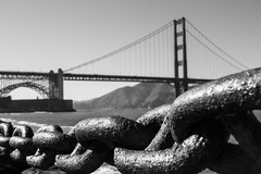 Golden Gate Bridge (pato_82) Tags: sanfrancisco california usa goldengatebridge goldengate bridge sanfran cali united unitedstates states bw blackwhite sky skyline sunset sun evening exposure expo epic amazing awesome america great goldenstate gold view city clouds cloud canon canon60d cityscape colors beautiful bestshot nature horizon holidays travel trip us westcoast west reflecting town urban friends free freedom bay silhouette architecture art alcatraz alcatrazisland daylight day downtown dark dream dope