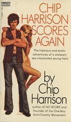 Gold Medal Books T2421 - Chip Harrison - Chip Harrison Scores Again (swallace99) Tags: goldmedal vintage 70s erotic adventure paperback lawrenceblock elaineduillo