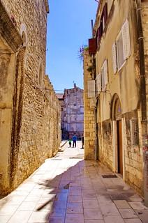 83 - Split, Croatie, Mai 2017 - dans la vieille ville