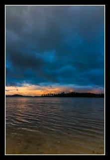 Lake Lanier, GA Sunrise using ND filters (6577)