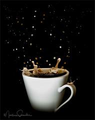 A Splash of Cream (martinaschneider) Tags: cream coffee coffeecream sugar splash drops creative mug