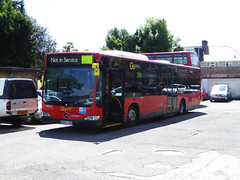 GAL MEC26 - BD09ZRK - BX BEXLEYHEATH BUS GARAGE - THUR 15TH JUNE 2017 (Bexleybus) Tags: goahead go ahead london bx bexleyheath bus garage depot learner training mecedes citaro mec26 bd09zrk kent