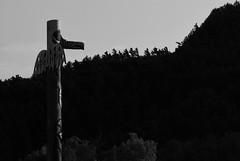 Agawa (dylan583) Tags: agawa agawabay totem blackandwhite blackwhite northernontario underexposed sidelight sonydslra330 sonya330 tamronsp45670300usd