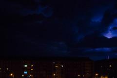Rayo en Ciudad (Garimba Rekords) Tags: vitoriagasteiz euskalherria alava araba eh euskadi noche rayo ciudad panorámica panorama