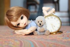 C is for Clock (AluminumDryad) Tags: fairyland littlefee ltf ante tinybjd bjd balljointeddoll doll resin yosd clock paisley monkey alphabet c