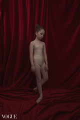 Bella (the side projects by dews) Tags: girl dance artistic posing redbackground younggirl flexibility
