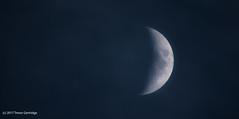 The Misty Moon (Trevdog67) Tags: misty cloudy moon crescent sky astronomy lune lunar nikon d7100 sigma 600mm contemporary