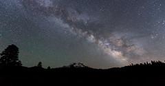 Mount Shasta (J. Weed) Tags: nikon mounty shasta milkyway snow stars le nightscapes nature
