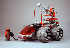 GREY:Tron MUR (TFDesigns!) Tags: lego space rover classic prototype greytron