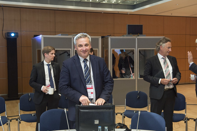 Jerzy Szmit at the Ministers' Roundtable