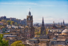 Edinburgh city-view compression (Helinophoto) Tags: canon5dmkiii canon24105f4 edinburgh hdr