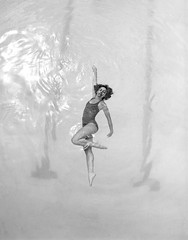 (netomacedo) Tags: swimming pool swimmingpool girlinswimsuit bw blackwhite analog pentax 67