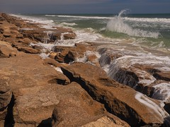 Another Wave at Washington Oaks Gardens (Phil's 1stPix) Tags: april2017 atlanticcoast floridastatepark washingtonoaksgardens washingtonoaksgardensstatepark wogsp coquinarockformations atlanticbeach coquina coquinarock washingtonoaksgradens floridanature realflorida naturalecosystem geotag geotagged wildflorida phils1stpix firstpix unitedstates usa olympuscamera mzuikoed1442mmf3556iir rockandwater rockbeach coquinabeach anastasiaformation naturalbeach livingbeach flaglercountyflorida floridaatlanticcoast coastline atlantic naturalcoast atlanticocean olympusomdem5markii photoscape outdoorrecreation outdoorfloridarecreation outdoor floridabarrierisland splash water waveinmotion wave breakingwave waterandrock wildbeach waveandrock limestonebeach