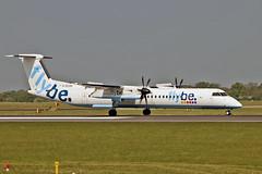 G-ECOD DHC-8Q 402 Flybe MAN 11-05-17 (PlanecrazyUK) Tags: egcc manchester man ringway manchesterairport gecod dhc8q402 flybe 110517