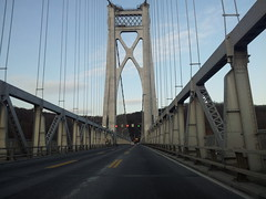 random bridge whilst driving to HRSH (by Aaron D. McCormick) Tags: cellphone galaxys2