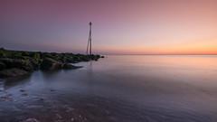 Dawn....Old Colwyn. (Einir Wyn Leigh) Tags: dawn sunrise beach light bright colours tranquility wales cymru solace happy love sun