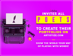 Inviting Poets on Artistize World (Artistize_Team) Tags: poet poets poetsjobs poetsworld author poetrybook poetry poem poems manicsylph artistize