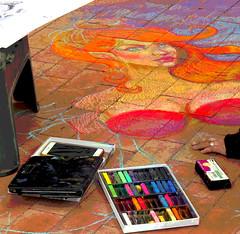 IMG_0042.5 (mikehogan2) Tags: fortworth texas plazapalooza sundancesquare chalk art pattyraewellborn public