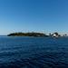 Pequena ilha de Cranae
