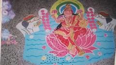 20161108_131945 (bhagwathi hariharan) Tags: rangoli kolam design art drawing nalasopara nallasopara artist pradharshan galery