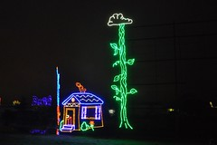 27 Jack & the Beanstalk (megatti) Tags: beanstalk buckscounty christmas christmaslights pa pennsylvania shadybrookfarm yardley