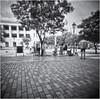 Fotografia Estenopeica (Pinhole Photography) (Samy Collazo) Tags: pinhole4214x214 pinhole003mm aristaedu400 lightroom3 niksilverefexpro2 estenopeica camarasestenopeicas pinholecameras sanjuan oldsanjuan viejosanjuan puertorico bn bw streetphotography fotografiacallejera