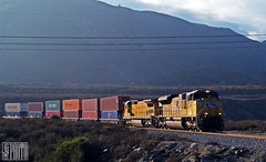 2014-12-06 San Berdoo-Blue Cut CA UP8349 SD70ACe (maximaguy97) Tags: locomotive emd electromotive sd70ah sd70ace up unionpacific up8349 bluecut cajon cajonpass california