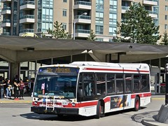 Toronto Transit Commission 8493 (YT | transport photography) Tags: ttc toronto transit commission nova bus lfs