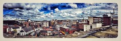 Panaramas welcome to northern Ireland colourful, dramatic and full of history. (AspirePhotography1) Tags: aspiretoinspire aspire image architecture architectural buildings clouds scene cityscene picture photo colour panarama photography northernireland ireland belfast cityscape