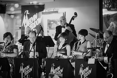 MBBB play at Steve and Alison's wedding (Melvin Beddow Big Band) Tags: bigband jazz swing band glennmiller trumpets sax wedding