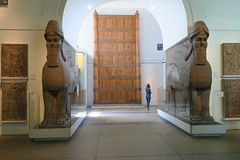 May 10: 68 Balawat Gates (Aquafortis) Tags: travel london england art assyrian