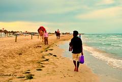 Tunisia 100 (Elisabeth Gaj) Tags: elisabethgaj tunisia afryka travel beach sea people