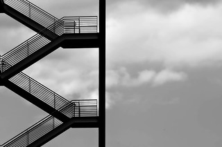 Stairs...On a cloudy day.