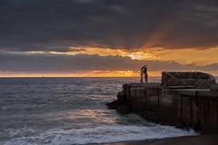 Selfie Moment (AgarwalArun) Tags: sonya7m2 sonyilce7m2 sony puertovallarta mexico ocean water waves surf landscape bahíadebanderas bay sunrise sunset reflections cluds storm selie