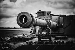 And closer.....! - (Industar 50mm) - 2017-05-20th (colin.mair) Tags: industar50 f35 tank bw black white gun barrel galloway sony ilce6000 ussr russian m39 manual lens 50mm