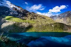 Laguna Humantay, Salkantay Trek, 4.100 m. (dvdcrst) Tags: lake water mountains andes reflection perù southamerica
