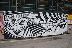 DSC_2269 Shoreditch London Great Eastern Street Artwork Made you Look (photographer695) Tags: shoreditch london street art great eastern artwork made you look