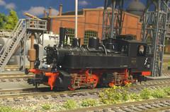 DRG BR 98 715 - Roco (Stig Baumeyer) Tags: steamlocomotive ånglok dampflokomotive damplok damplokomotiv h0skala h0scale h0 h0layout 187 scalah0 scala187 echelleh0 echelle187 modelljärnväg modelljernbane modelrailway modelleisenbahn ferromodellismo diorama rocoh0 roco roco187 drg deutschereichsbahn bbii bayerischebbii baybbii bavarianbbii drgbr987 drgbaureihe987 malletlocomotive bauartmallet mallet maffei
