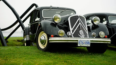 Citroën Traction Avant (Eric Flexyourhead) Tags: northvancouver canada britishcolumbia bc waterfrontpark 2017 italianfrenchcarbikefestival french car citroën tractionavant citroëntractionavant 169 sonyalphaa7 zeisssonnartfe55mmf18za zeiss 55mmf18