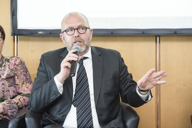 Klaus Bondam speaking about good national/federal governance