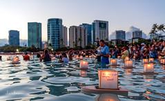 Lantern Floating Hawaii Ceremony Memorial Day 2017 15 (JUNEAU BISCUITS) Tags: lanternfloatinghawaii memorialday lantern japanese memorial hawaii oahu honolulu sunset aloha peace love remembrance nikond810 nikon alamoana alamoanabeachpark beach ocean skyscape