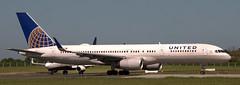 Boeing 757-224 N17105 (707-348C) Tags: dublinairport dub eidw airliner jetliner boeing unitedairlines boeing757 united ual n17105 b752 passenger dublin collinstown