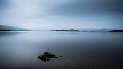 Loch Lomond. (bhp1956) Tags: loch landscape misty stormy water island scotland lochlomond lake rain rocks clouds uk