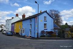 Colourful Corner (Bob.W) Tags: bishopscastle shropshire coth5