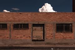 (el zopilote) Tags: 500 albuquerque newmexico street architecture cityscape industrial signs graffiti clouds canon eos 1dsmarkiii canonef24105mmf4lisusm fullframe