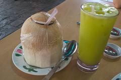 Coconut Drink (Timothy D.) Tags: cameraandlens food kualalumpur location malaysia microsoftlumia640lte wilayahpersekutuankualalumpur maleisië my