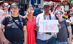 2017.06.10 Painting of #DCRainbowCrosswalks Washington, DC USA 6323