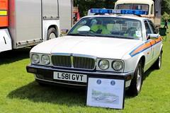 1993 Jaguar XJ6 4.0 Police Car (bri77uk) Tags: l581gvt jaguarxj40 jaguarpolicecar jamsandwich