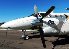 EMB-121A Xingu II, PT-MBB (Antônio A. Huergo de Carvalho) Tags: embraer emb121 emb121a xingu xingú xinguii ptmbb