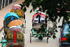 Life in Contrast (shamahzoha) Tags: cityscape urban life cycles rickshaws cars street bustling colors vibrant bridge